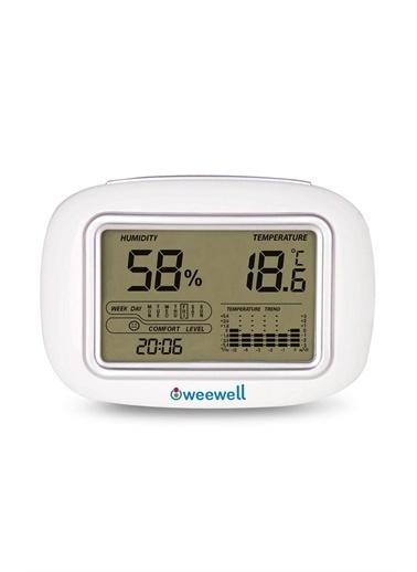 Weewell Weewell Dijital Nem Ve Sicaklik Ölçer Higro Termometre Whm140 Pembe